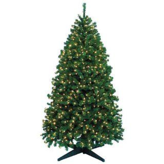 9 ft. x 60 in.   Highland Fir   2525 Classic PVC Tips   1500 Clear Mini Lights   Barcana Artificial Christmas Tree