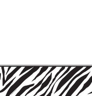 "Creative Converting Animal Print Zebra Plastic Table Cover, Rectangle 54 x 108"" Toys & Games"