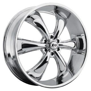 26 inch 26x9 Rev 105C chrome wheel rim; 6x5.5 6x139.7 bolt pattern with a +30 offset. Part Number 105C 2698330 Automotive