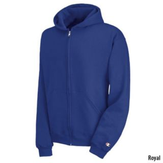 Champion Boys Double Dry Action Fleece Full Zip Hoodie 616761