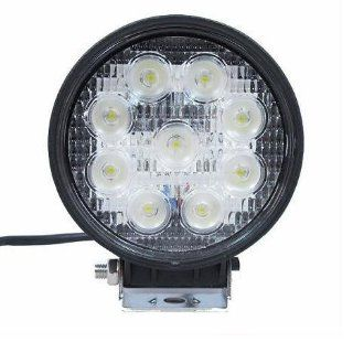 Signstek 27W Flood Light Headlight Work Light Lamp off Road High Power ATV Jeep 4x4 Tractor Truck Light Fog Driving Bar Rree Truck SUV Car Waterproof Dustproof Shockproof