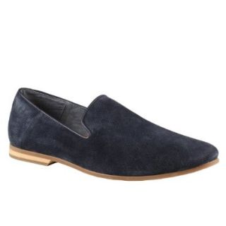 ALDO Donnat   Men Dress Loafers   Navy Suede   10 Shoes