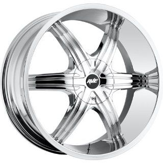 Avenue A606 18 Chrome Wheel / Rim 5x110 & 5x115 with a 40mm Offset and a 73.00 Hub Bore. Partnumber A606 1875003140C Automotive