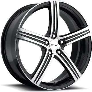 MSR 52 20 Super Finish Black Wheel / Rim 5x115 with a 40mm Offset and a 82.80 Hub Bore. Partnumber 5222715 Automotive
