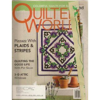 Quilter's World Magazine, June 2004 (Volume 26, Number 3) Sandra L. Hatch Books