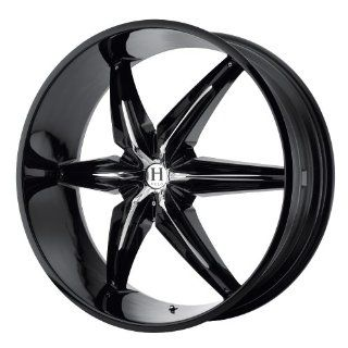 Helo HE866 22x9.5 Black Wheel / Rim 6x132 & 6x5.5 with a 35mm Offset and a 78.30 Hub Bore. Partnumber HE86622971335 Automotive