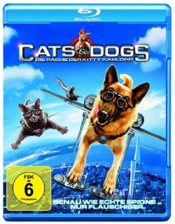 Cats & Dogs Die Rache der Kitty Kahlohr [Blu ray] Chris O'Donnell, Jack McBrayer, Paul Rodriguez, Ian Thompson, Chris Parson, Brad Peyton DVD & Blu ray