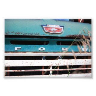 Forgotten Ford Truck Photographic Print