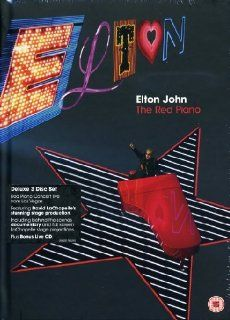 Elton John   The Red Piano Deluxe Edition 2 DVDs + Audio CD, NTSC Deluxe Edition Sir Elton John DVD & Blu ray