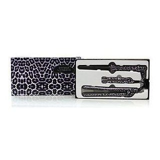 Herstyler Purple Leopard Gift Set Kit with 2 Flat Irons and A Curler Health & Personal Care
