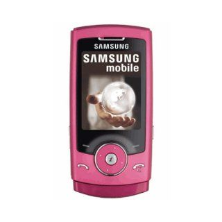 Samsung SGH U600 Unlocked Phone with 3.2 MP Camera, Media Player, and MicroSD Slot  International Version with No Warranty (Pink) Cell Phones & Accessories