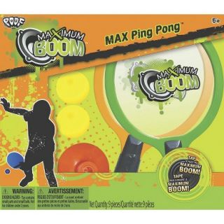 Poof Slinky Max Boom Max Ping Pong