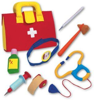 Play Doctor Kit   Fabric Role Play Set Toys & Games