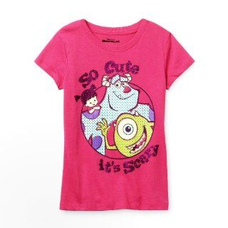 Monsters INC So Cute It's Scary Pink Shirt (GIRLS  SMALL))