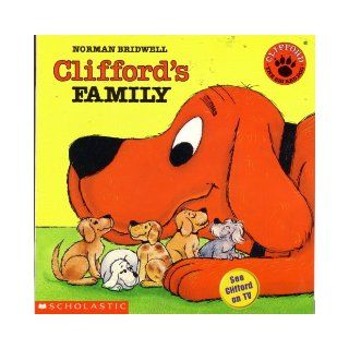 Set of 5 Clifford Books Clifford's Family, Clifford's Busy Week, Clifford Keeps Cool, Clifford's Manners, Clifford the Firehouse Dog (Clifford the Big Red Dog) Books