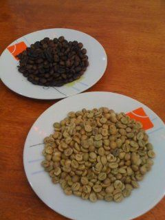 Bulk Arabica Green Coffee Beans Grade A 1kg (2.2 lbs)  Unroasted Green Coffee Beans  Grocery & Gourmet Food