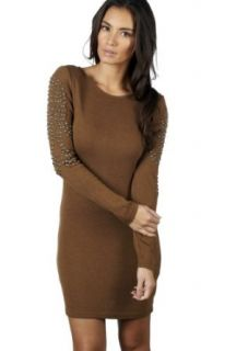 AX Paris Women's Studded Knitted Dress