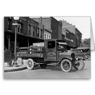 Antique Ford Pickup Truck 1926 Greeting Card