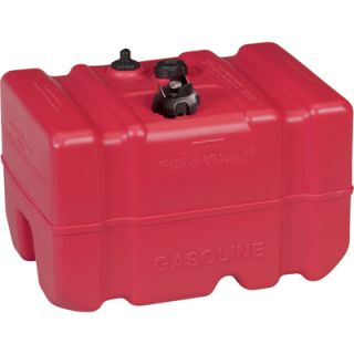 Moeller Marine EPA- Compliant Topside Fuel Tank — 12 Gallons, High Profile, Model# 630012LP  Auxiliary Transfer Tanks
