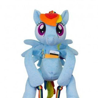 My Little Pony Friendship is Magic Rainbow Dash Hug Me Backpack Toys & Games