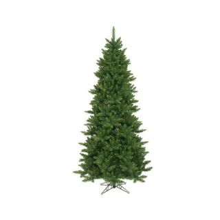 Vickerman Co. Camdon Fir 8.5 Green Artificial Slim Christmas Tree with Stand Christmas Decor