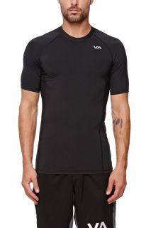 Mens Rvca T Shirts   Rvca Virus Compression Short Sleeve T Shirt