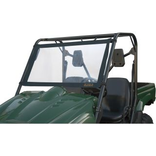 Classic Accessories QuadGear UTV Windshield — Small, Fits Kawasaki 610, Yamaha Rhino, Black, Model# 78617  UTV Accessories
