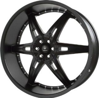 VERDE   allusion   24 Inch Rim x 9.5   (5x4.5/5x4.75) Offset (35) Wheel Finish   semigloss black Automotive