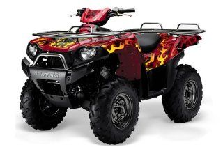AMR Racing 2004   2011 Kawasaki Brute Force 750, 750i ATV Quad, Graphic Kit   Automotive