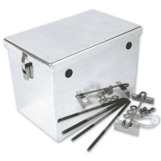 NOCO HM252 Polished Aluminum Group 27 High Performance Battery Box Automotive