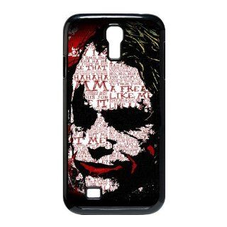Custom Batman Joker Cover Case for Samsung Galaxy S4 I9500 S4 264 Cell Phones & Accessories