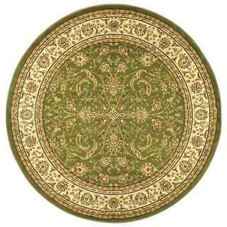 Lyndhurst Collection Sage/ivory Oriental Rug (8 Round)