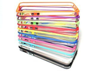 10 Piece Mixed Wholesale Lot TPU Bumper Frame Case Cover for Apple iPhone 5 / 5S Cell Phones & Accessories
