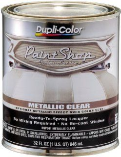 Dupli Color (BSP301 2 PK) 'Paint Shop' Metallic Clear Coat Finish System Special Effects Mid Coat   1 Quart, (Case of 2) Automotive