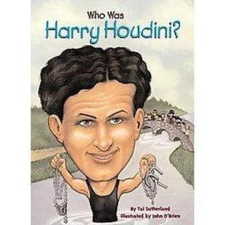 Who Was Harry Houdini (Paperback)