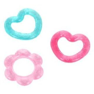 Toy / Game Bright Starts Chill and Teether, Pretty in Pink   Water filled Teethers Soothe Baby's Gums (Set of 3) Toys & Games