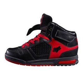 Fox Racing Overload Deluxe Hi Shoes   11.5/Black/Red Automotive