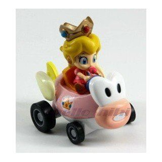Super Mario Bros Mini Figure Car B/peach Toys & Games