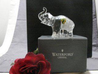 Waterford Crystal Elephant Baby Calf, Part of the Waterford Crystal Animal Collection   Collectible Figurines