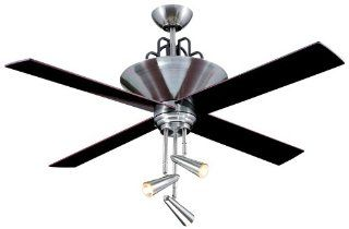 Ellington E GAL52BC4GR Galileo 52 in. Indoor Ceiling Fan   Brushed Chrome