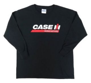 Case IH Youth Black Long Sleeve Shirt (L) Clothing