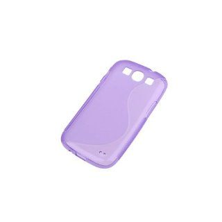 BestDealUSA Cool Purple S Line S Curve Wave TPU Case for Samsung Galaxy S3 i9300 SIII S III Cell Phones & Accessories
