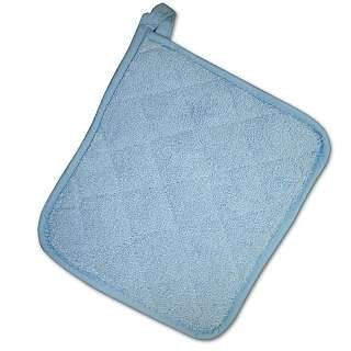 Cafe Solid Terry Pot Holder BLUE Health & Personal Care