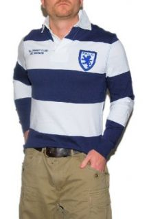 Polo Ralph Lauren Custom Fit Mens Rugby Cricket Bleeker Shirt Navy Small at  Men�s Clothing store
