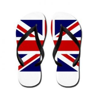 Artsmith, Inc. Women's Flip Flops (Sandals) British English Flag HD Clothing