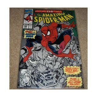 Marvel Comics The Amazing Spider Man Giant Size 350th Issue Issue Number 350 Aug (Spidey vs. Doctor Doom, 350 Aug) Marvel Books