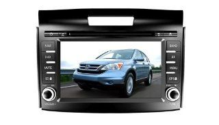 Eagle for 2012 2013 Honda CRV Car GPS Navigation DVD Player Audio Video System with Radio (AM/FM), Bluetooth Hands Free, USB, AUX Input, (free Map), Plug & Play Installation  In Dash Vehicle Gps Units