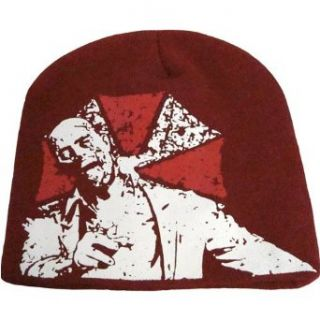 Resident Evil Zombie and Umbrella Corp Logo Beanie Clothing