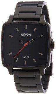 Nixon #A357 680 Men's Cruiser Stainless Steel Black Gunmetal Analog Watch Watches