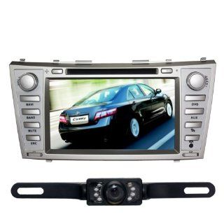 "Tyso For Toyota Camry (2007 2011) HD 8"" Car DVD GPS Navigation Rear Camera Bluetooth Ipod Free Map CD8964R  In Dash Vehicle Gps Units"